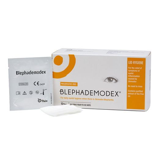 Blephademodex wipes