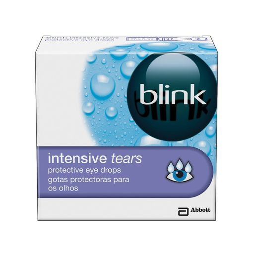 blink Intensive Tears eye drops (vials)