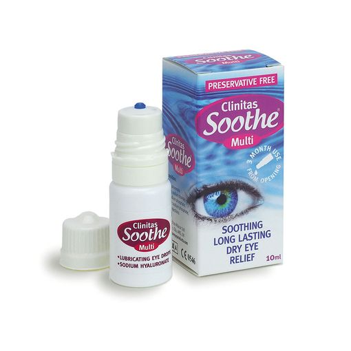 Clinitas Soothe Multi eye drops (bottle)