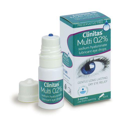 Clinitas 0.2% Multi eye drops (bottle)