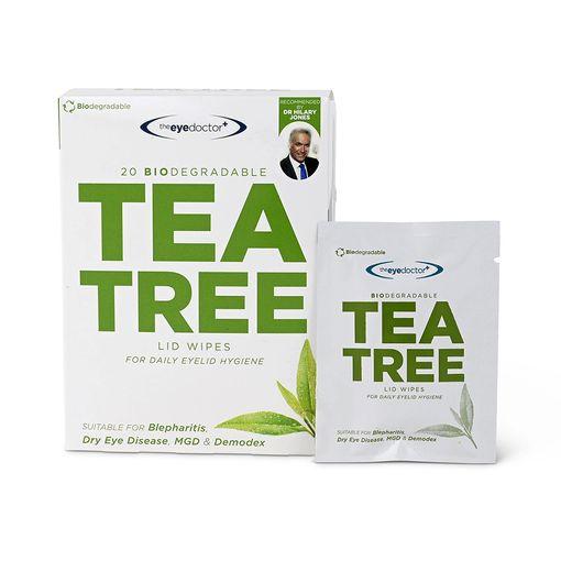 The Eye Doctor Tea Tree Oil lid wipes