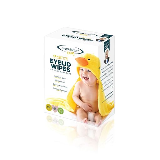 The Eye Doctor baby/sensitive lid wipes