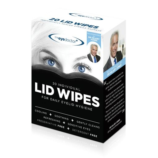 The Eye Doctor lid wipes