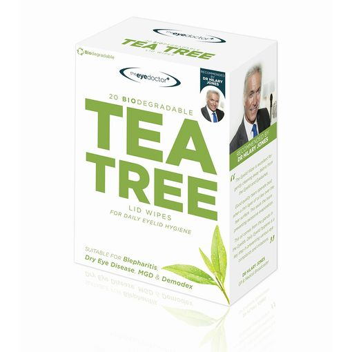 The Eye Doctor Tea Tree Oil lid wipes