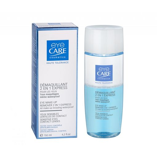 Eye Care Eye makeup remover 2-in-1 express