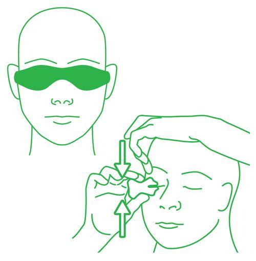 Eyepeace eyelid massager PLUS