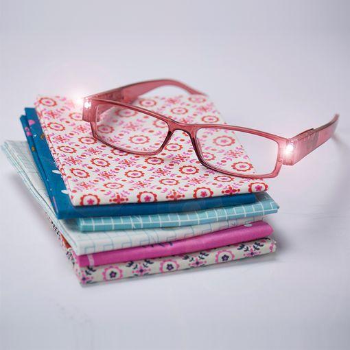 Foresight LED Glasses in Dusky Pink +1.00
