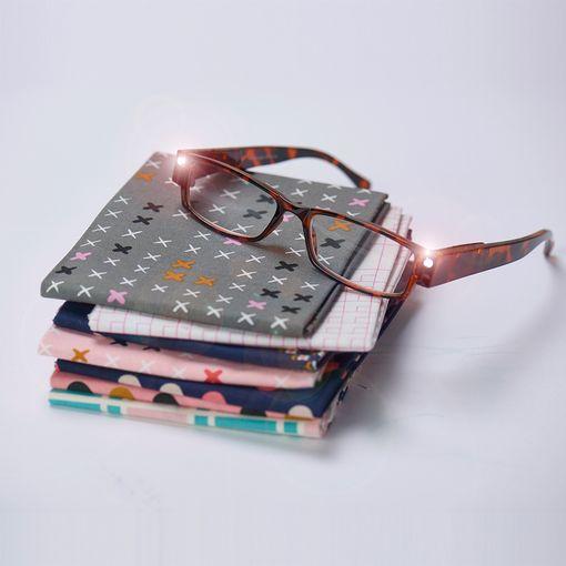 Foresight LED Glasses in Tortoiseshell +1.00