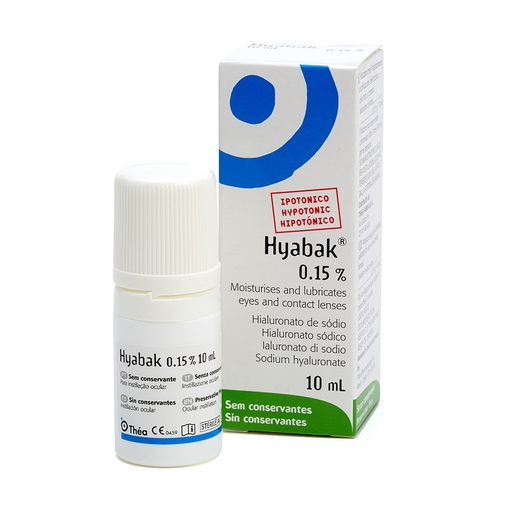 Hyabak eye drops