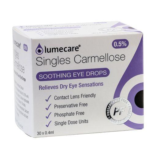 Lumecare Carmellose Singles eye drops image 1