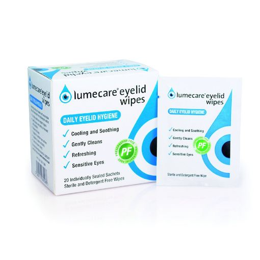 Lumecare eyelids wipes