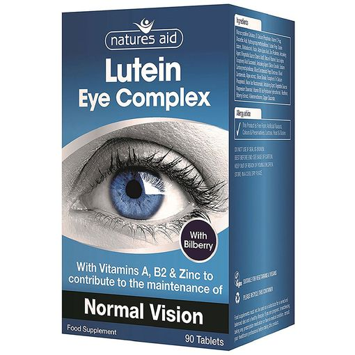 Nature's Aid Lutein Eye Complex