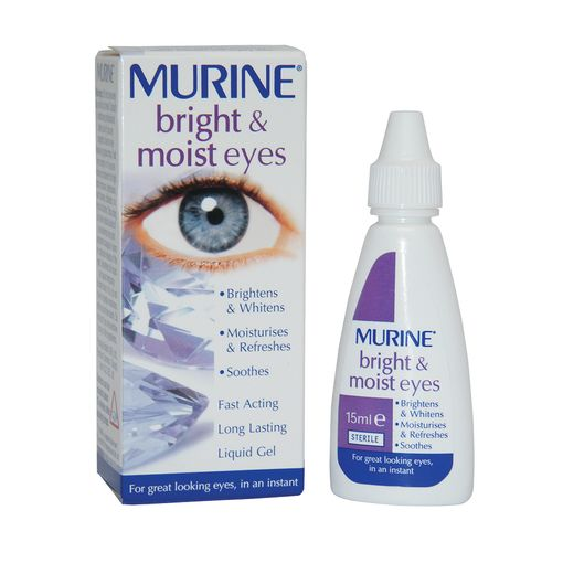 Murine Bright & Moist eye drops