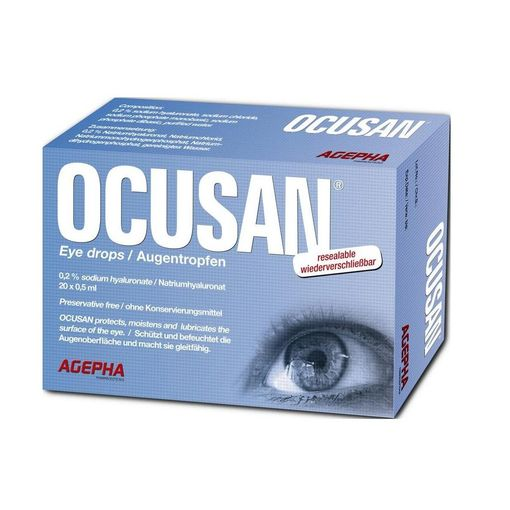Ocusan eye drops