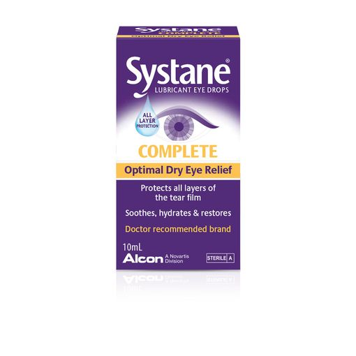 Systane Complete eye drops