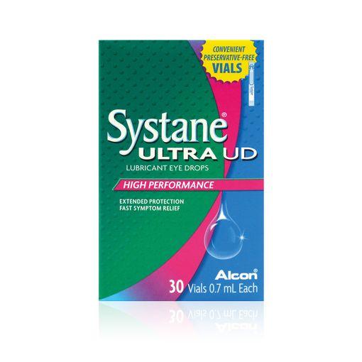 Systane Ultra eye drops (vials)