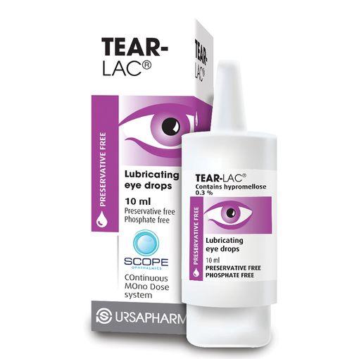 Tear-Lac eye drops
