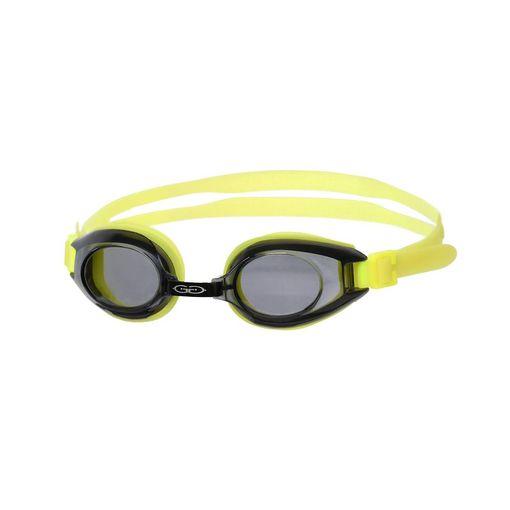 Gator YELLOW swimming goggles including prescription lenses