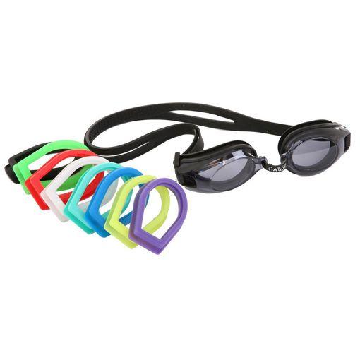 Gator swimming goggles including prescription lenses