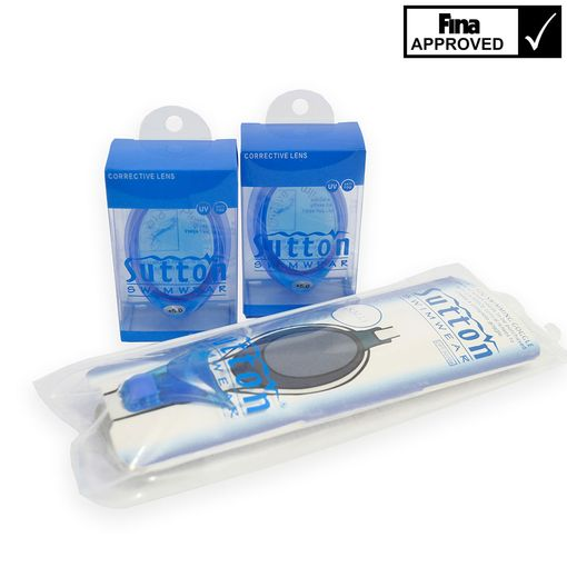 Sutton Swimwear OPT9000 BLUE swimming goggles mount