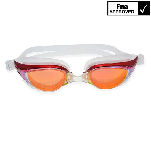 Sutton Swimwear OPT1200M RED swimming goggles including prescription lenses