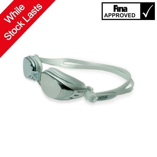 Sutton Swimwear OPT1200M SILVER swimming goggles including prescription lenses
