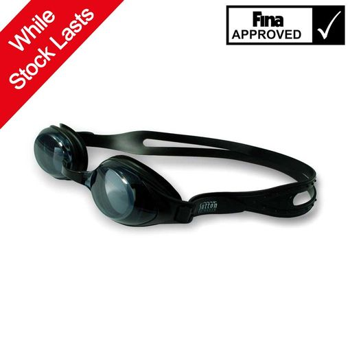 Sutton Swimwear OPT9000 BLACK swimming goggles mount