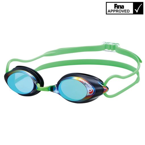 Swans SRX LIMITED EDITION green swimming goggles including prescription lenses image 1