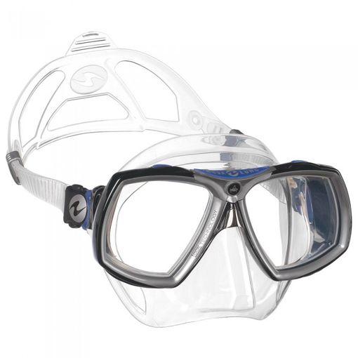 AquaLung Look 2 diving mask including prescription lenses image 2