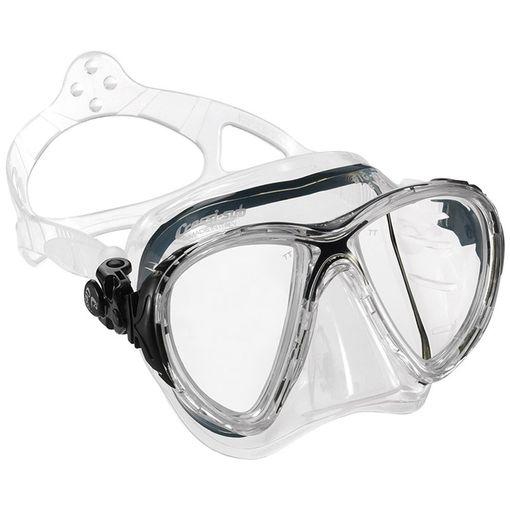 Cressi Big Eyes Evolution diving mask in Clear/Black