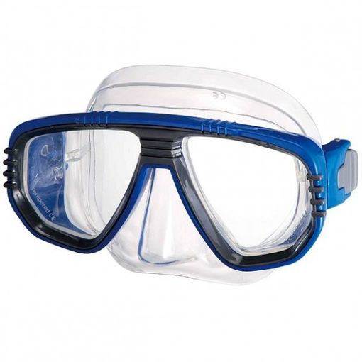 IST Corona M55 diving mask in Blue/Clear