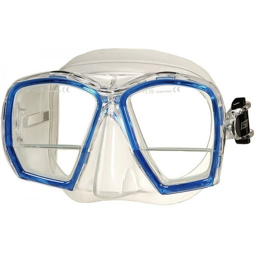 IST Gauge MP207 diving mask including prescription bifocal lenses