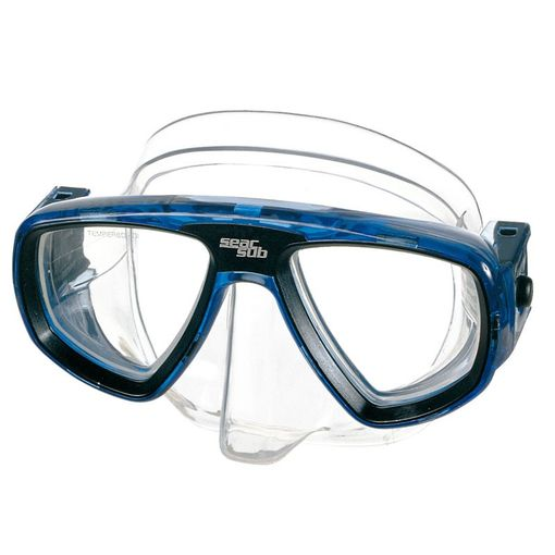 Seac Sub Extreme diving mask including prescription lenses