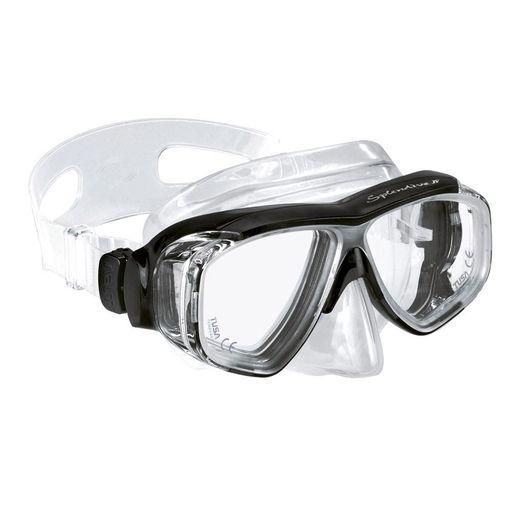 Splendive  IV 9442 (Tusa M-40) diving mask including prescription lenses