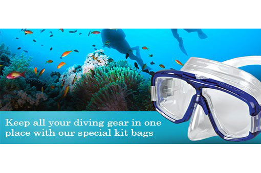 Great storage ideas for your diving kit