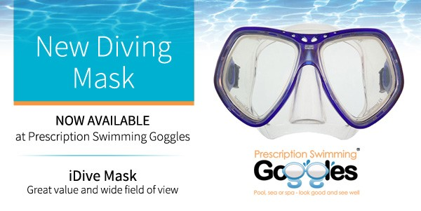 New iDive mask for great vision while diving