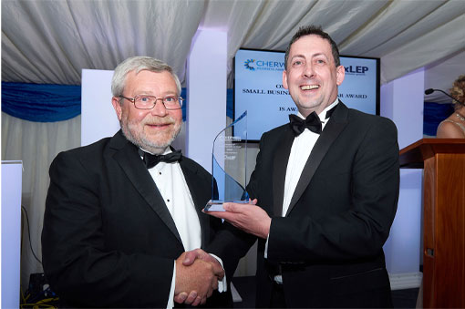 Our parent eye health company Butterflies Healthcare wins Cherwell Business Award